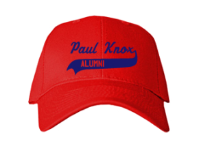 Paul Knox Middle School Embroidered Baseball Caps
