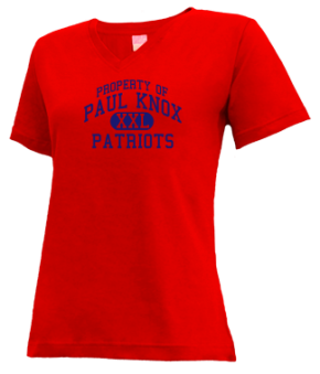 Paul Knox Middle School V-neck Shirts
