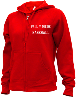 Paul V Moore High School Zip-up Hoodies