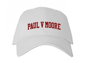 Paul V Moore High School Kid Embroidered Baseball Caps