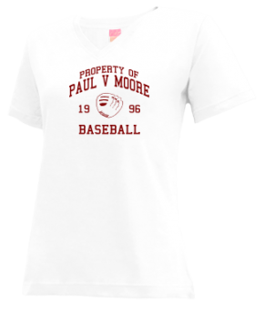 Paul V Moore High School V-neck Shirts