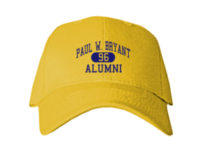 Paul W. Bryant High School Embroidered Baseball Caps