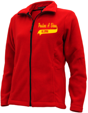 Pauline A Shaw Elementary School Embroidered Fleece Jackets