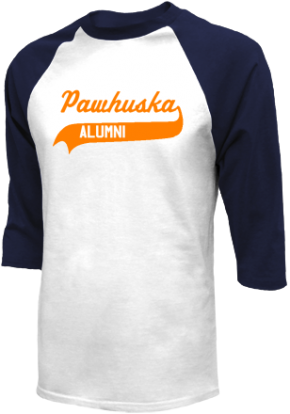 Pawhuska Junior High School Raglan Shirts