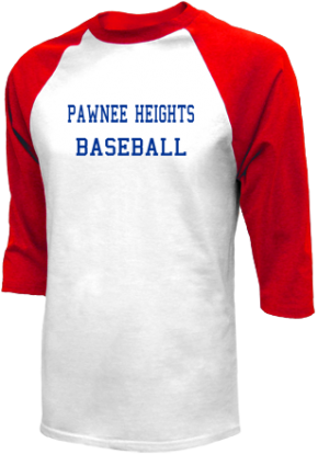 Pawnee Heights High School Raglan Shirts