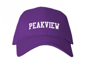 Peakview Elementary School Kid Embroidered Baseball Caps
