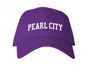 Pearl City Elementary School Kid Embroidered Baseball Caps