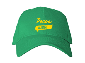 Pecos Elementary School Embroidered Baseball Caps