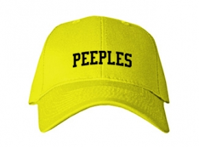 Peeples Middle School Kid Embroidered Baseball Caps