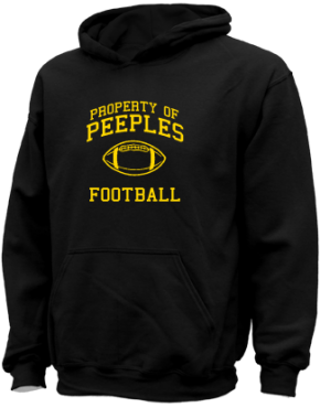 Peeples Middle School Kid Hooded Sweatshirts