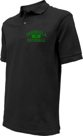Peninsula High School Embroidered Polo Shirts