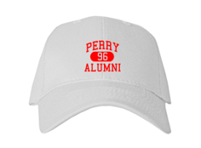 Perry Middle School Embroidered Baseball Caps