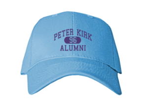 Peter Kirk Elementary School Embroidered Baseball Caps