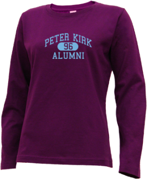 Peter Kirk Elementary School Long Sleeve Shirts