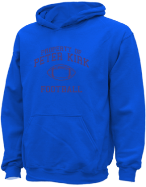 Peter Kirk Elementary School Kid Hooded Sweatshirts
