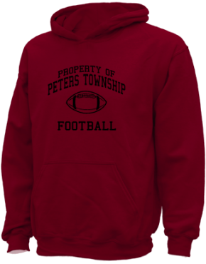 Peters Township High School Kid Hooded Sweatshirts