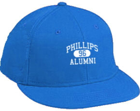 Phillips Elementary School Flat Visor Caps