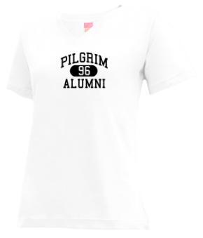 Pilgrim High School V-neck Shirts
