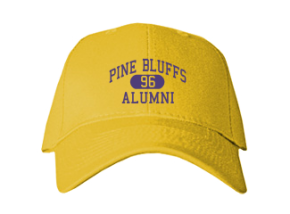 Pine Bluffs Elementary School Embroidered Baseball Caps