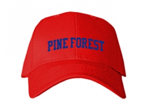 Pine Forest High School Kid Embroidered Baseball Caps