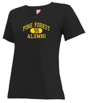 Pine Forest High School V-neck Shirts