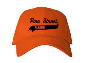 Pine Street Elementary School Embroidered Baseball Caps