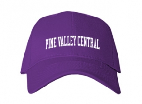 Pine Valley Central High School Kid Embroidered Baseball Caps