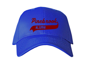 Pinebrook Elementary School Embroidered Baseball Caps