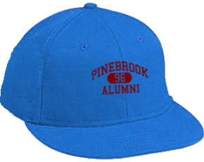 Pinebrook Elementary School Flat Visor Caps