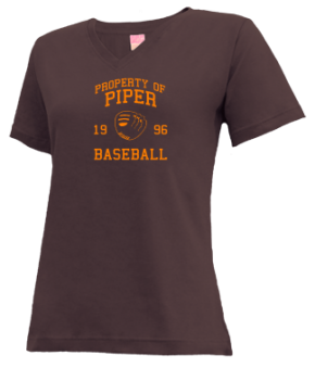 Piper High School V-neck Shirts