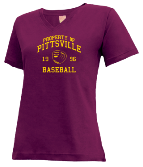 Pittsville High School V-neck Shirts