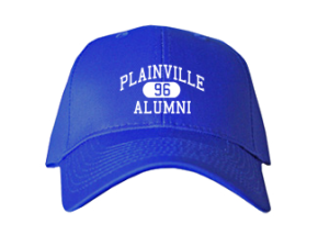 Plainville High School Embroidered Baseball Caps