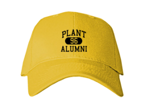 Plant High School Embroidered Baseball Caps