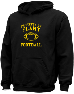 Plant High School Kid Hooded Sweatshirts