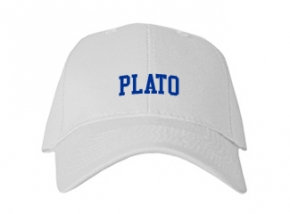 Plato High School Kid Embroidered Baseball Caps