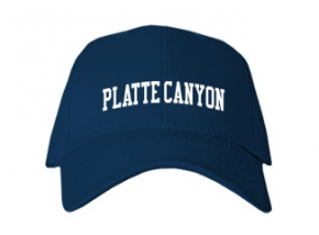 Platte Canyon High School Kid Embroidered Baseball Caps