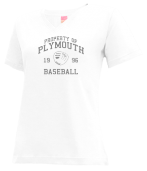 Plymouth High School V-neck Shirts