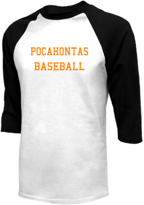 Pocahontas High School Raglan Shirts