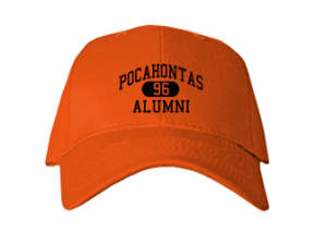 Pocahontas Middle School Embroidered Baseball Caps