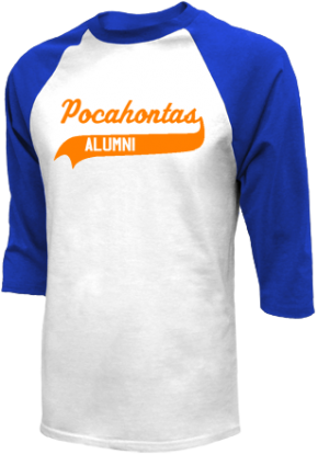 Pocahontas Middle School Raglan Shirts
