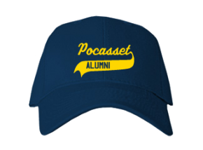 Pocasset Elementary School Embroidered Baseball Caps