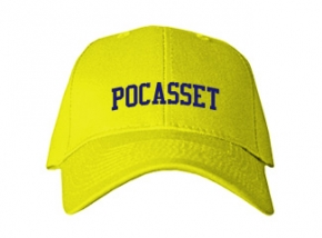 Pocasset Elementary School Kid Embroidered Baseball Caps