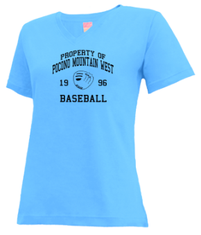 Pocono Mountain West High School V-neck Shirts