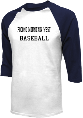 Pocono Mountain West High School Raglan Shirts