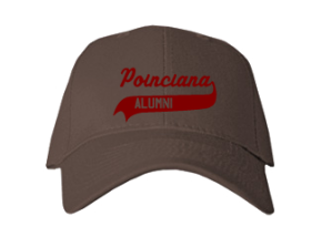 Poinciana Elementary School Embroidered Baseball Caps