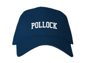 Pollock High School Kid Embroidered Baseball Caps