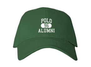 Polo High School Embroidered Baseball Caps