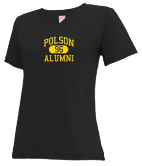 Polson High School V-neck Shirts