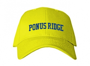 Ponus Ridge Middle School Kid Embroidered Baseball Caps