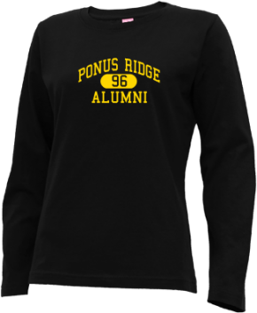 Ponus Ridge Middle School Long Sleeve Shirts